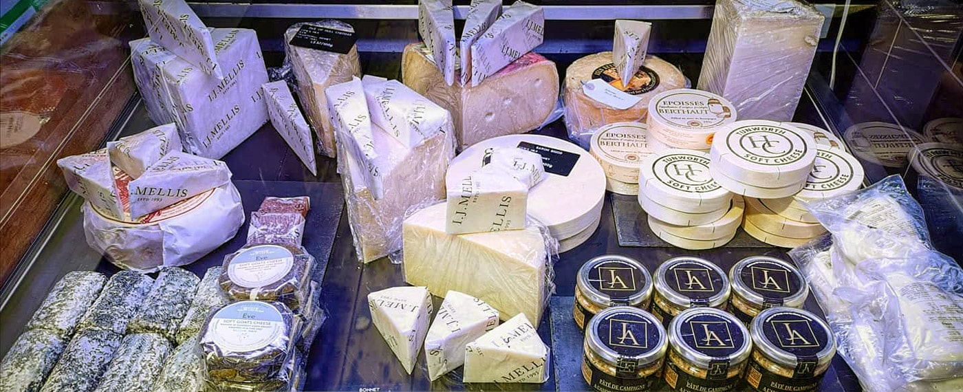 The Butcher's Quarter  - Cheese selection